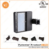 UL Dlc IP65 10000lm 100W LED Outdoor Parking Lot Light