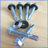 Zinc Hex Head Washer Self Drilling Screw