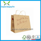 Direct Factory Hot Sale Printed Kraft Paper Shopping Bags