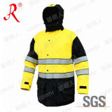 Winter Safety Jacket with 3m Reflective Tape (QF-565)
