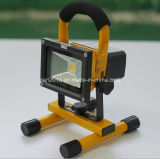 10W 2200mAh LED Protable Emergency Camping Rechargeable Floodlight