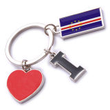 New Custom Metal Souvenir Cape Verde Keyring