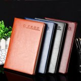 professional Custom Leather Cover Promotional Notebook