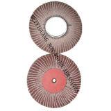 "8""X2"" 240# Fiber Flap Polishing Wheel with Sand Paper"