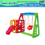 Plastic Slide and Swing for Kids Playground (M11-09408)