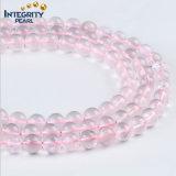 Wholsesale Gemstone Natural Quartz Round 5 8 10 12 14mm Pink Lotus Crystal Beads String
