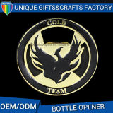 Alloy Military Metal Beer Bottle Opener with Soft Enamel Painting