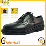 Oxford Style Police Office Leather Uniform Shoes
