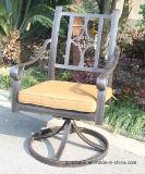 Garden Swivel Glider Chair Furniture with Cast Aluminum