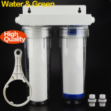 2 Stages Water Treatment with Clear Strong household