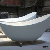 Kkr One Person Stone Marble Outdoor Bath Hot Tub (BT170818)
