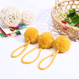 Garment Accessories Fringe Yellowed POM Poms