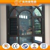 Weiye Aluminum/Aluminium/Aluminio Thermal Broken Casement Window with Flyscreen