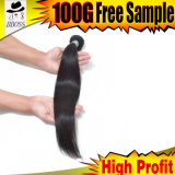 Hot Sell in 100% 10A Brazilian Straight Hair