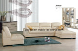 Modern Living Room Furniture Leather Sectional Sofa (826)