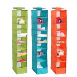 Home Fashion Collection 9 Shelf Sweater Hanging Organizer