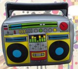 Inflatable PVC Toy Radio Model Musical Instruments