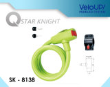 Sk-8137 Star Knight Bicycle Anti -- Theft Lock