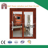 Energy Saving Double Glazing Aluminum Sliding Exterior Panel Doors
