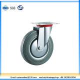 Gray Rubber Swivel Industrial Caster, Trolley Castor (N191)