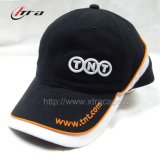 Piping Sports Cap 3D Embroidery Hats