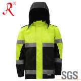 Outdoor Work Jacket with 3m Safety Reflective Tape (QF-582)