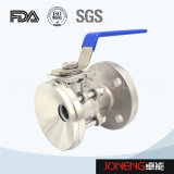Stainless Steel Sanitary Flanged Ball Valve