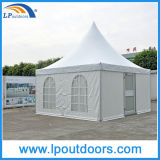 5X5m Outdoor Marquee Pagoda Tent with Glass Door for Wedding