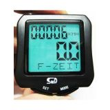 Outdoor Wireless Cycling Speedometer 24 Function Bike Bicycle Computer