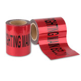 Free Sample Available Red Underground Detectable Warning Tape