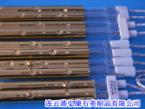 Gold-Plated Heating Pipe, Double The Porous Silica Gold-Plated Tube, Gold-Plated Holes Tube Heater