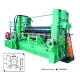 Hydraulic Upper Roller Universal Plate Rolling Machine (W11S)