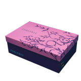 Color Design Cardboard Shoes Packaging Box
