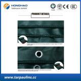 Green Color PVC Coated Waterproof Tarpaulin/Tent Fabric
