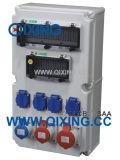 Ice High Quality Plastic Combination Socket Box