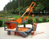 Mobile Diesel Egg Laying Machine / Concrete Block Machine