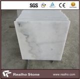 Cheap Chinese Carrara White Cut to Size Marble Tile 24X24