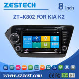 "8"" Touch Screen Car DVD Player with Wince System for KIA K2 (ZT-K802)"