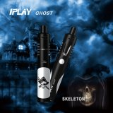 Iplay Ghost Black Skeleton Rechargeable E-Cigarette Aio Style Starter Kit