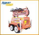 5kw Four-Folded Hydraulic Mobile Light Generator Set
