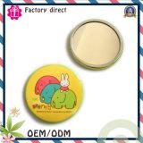 Promotion Gift Metal Tin Hand Mirror/ Makeup Mirror / Pocket Mirror