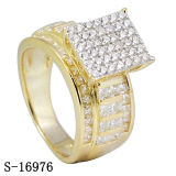 New Arrival Hip Hop Jewelry 925 Silver Diamond Ring Factory Wholesale
