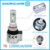2017 Car LED Headlight H7 Bulb with Fan