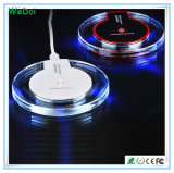 Low Cost Crystal Qi Wireless Charger with High Quality (WY-CH05)