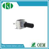 B5k 10k 50k 100k 9 mm Size Rotary Potentiometer Wh9011-1c