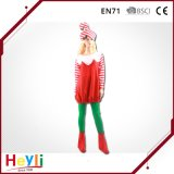 Lovely Cute Child Girls Christmas Party Candy Cane Cosplay Costume