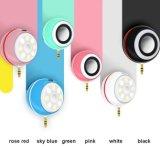 Portable Mini Speakers Selfie LED Flash Light for iPhone 7 MP3 iPad and Samsung
