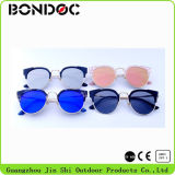 Fsshion Cat Eyes Sunglasses with Round Frame (749)
