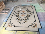 Waterjet Marble Medallion for Interior Decoration