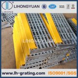 Galvanized Steel Grating Steps for Platform Ladder